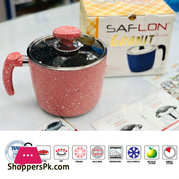 Saflon Milk Pot Granit line Series Turkey Made