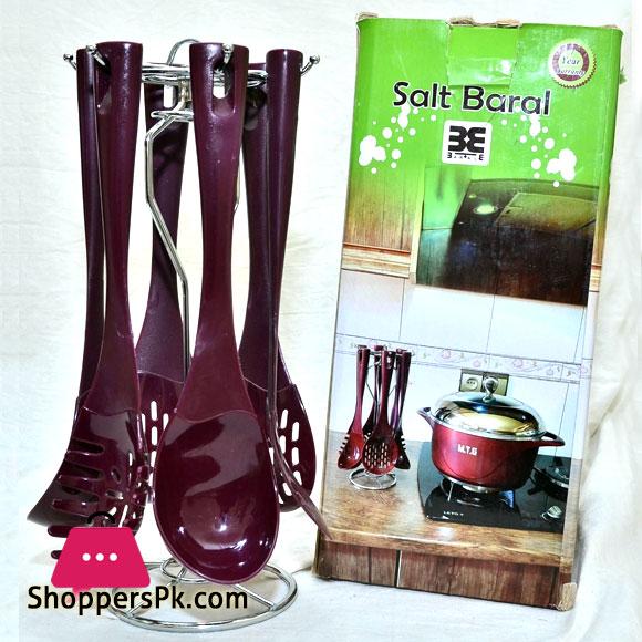 Salt Baral Plastic Spoon Set of 7