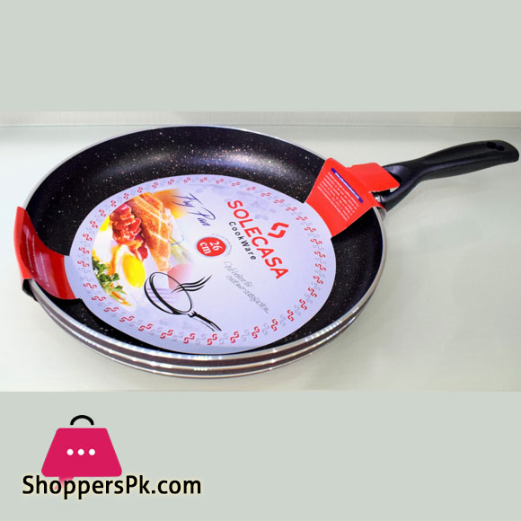 Solecasa Marble Coated Non-Stick Fry Pan 26-CM