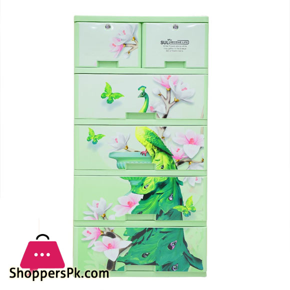 Sonati Peacock Wardrobe Drawer (4+2)