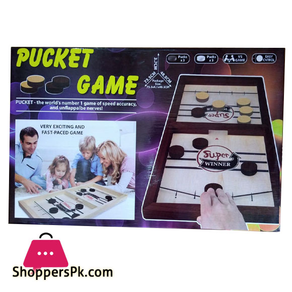 Super Winner Pucket Game Wood (Large)
