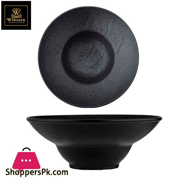 Wilamx Fine Porcelain Deep Plate 9 Inch 22.5 Cm 37 Fl Oz 1100 Ml WL-661113 / A