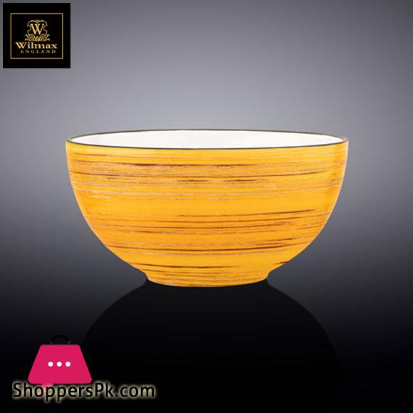 Wilmax Fine Porcelain Bowl 6.5 Inch 16.5 Cm 34 Fl Oz 1000 Ml WL-669431 / A
