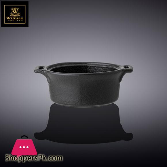 Wilmax Fine Porcelain Dish 4.25 x 1.5 Inch WL-661147 / A
