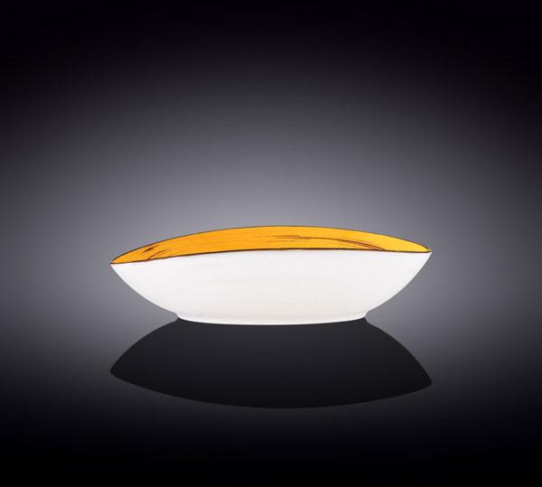 Wilmax Fine Porcelain Oval Bowl 9.75 x 6.5 x 2.5 Inch WL-669440 / A