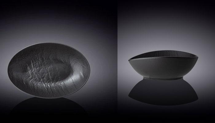 Wilmax Fine Porcelain Oval Dish 7.5 x 6 x 2.5 Inch WL-661119 / A