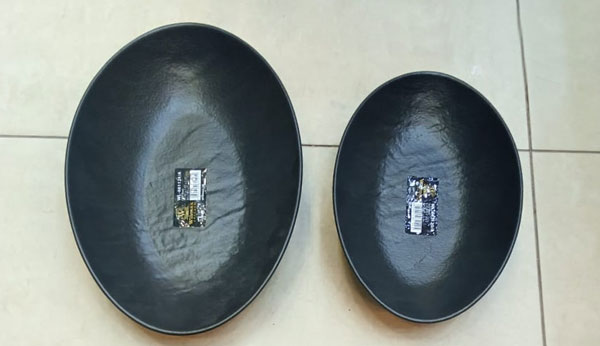Wilmax Fine Porcelain Oval Dish 11.75 x 7.75 x 2.75 Inch WL-661121 / A