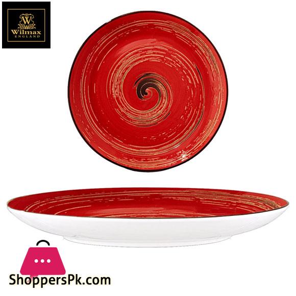 Wilmax Fine Porcelain Round Plate 8 Inch WL-669212 / A