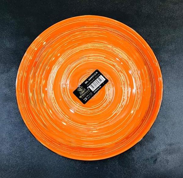 Wilmax Fine Porcelain Round Plate 10 Inch WL-669314 / A