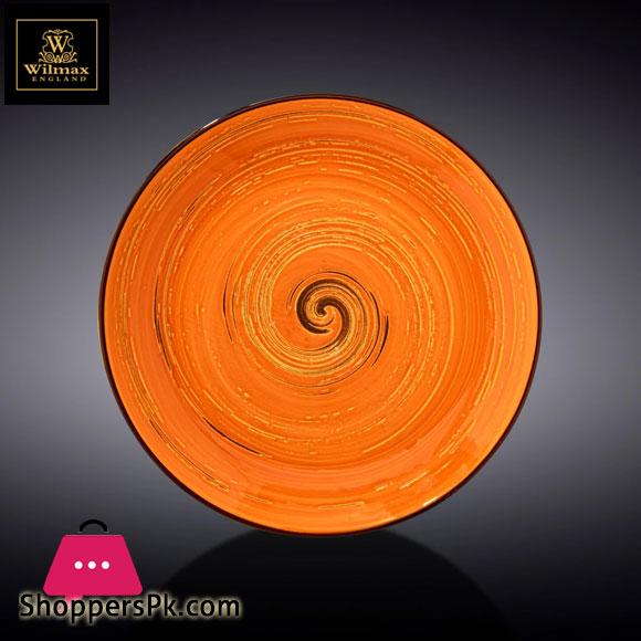 Wilmax Fine Porcelain Round Plate 8 Inch WL-669312 / A