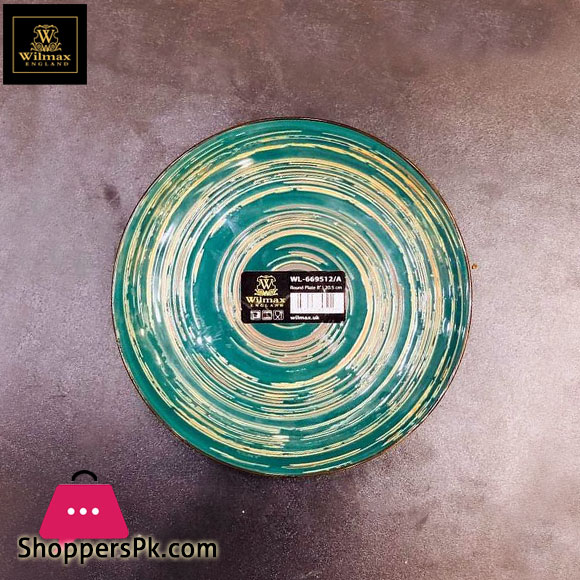 Wilmax Fine Porcelain Round Plate 8 Inch WL-669512 / A