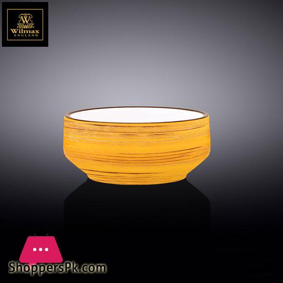 Wilmax Fine Porcelain Soup Cup 5 Inch 12.5 Cm 13 Fl Oz 400 Ml WL-669438 / A