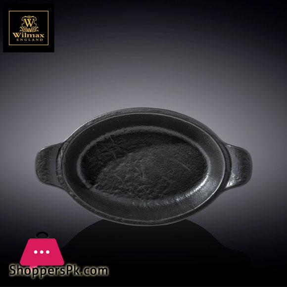 Wilmax Fine Porcelain Oval Baking Dish 11 x 6.25 Inch 500 Ml WL‑661146/A