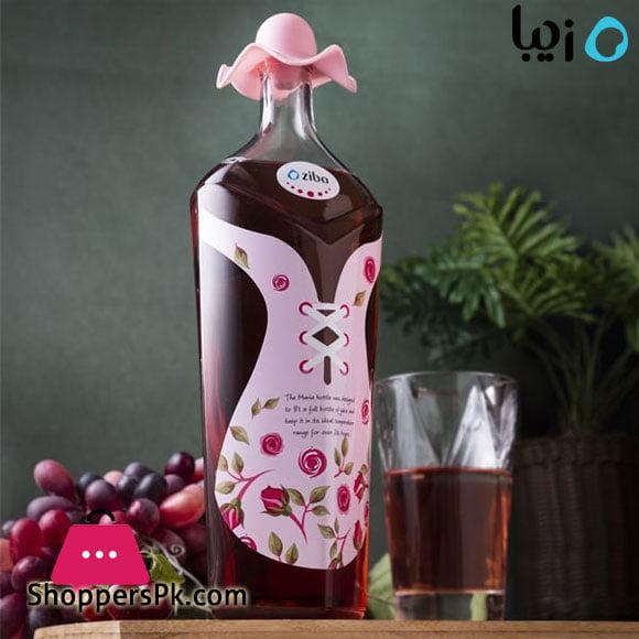 Zibasazan Glass Maria Bottle 1- Liter Iran Made