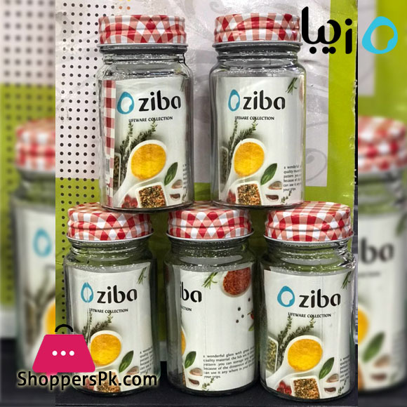 Zibasazan Saffron Mini Glass Jar 100-ML Iran Made