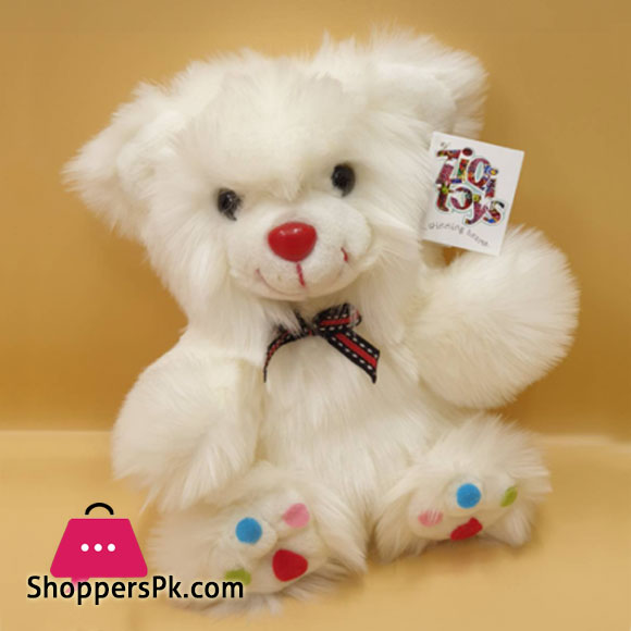 Ziqi Teddy Bear Multi Dot 10 Inch