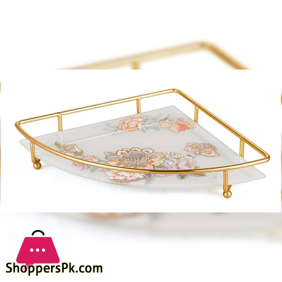 Solesaca Golden Frame Tray Triangle