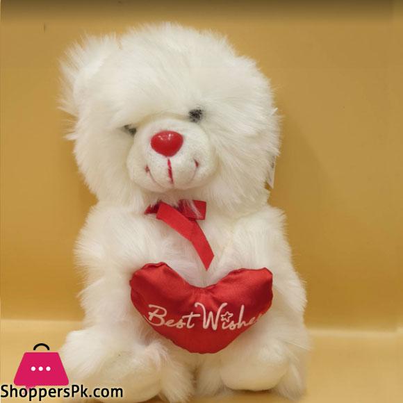 ZiQi Teddy Bear wishes heart 10 Inch
