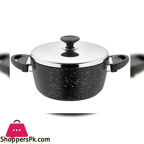 SF3620GR 20 INCH Pot BLACK SAFLON 2-45Ltr 6c
