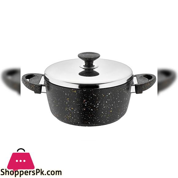 SF3624GR 24 INCH Pot BLACK SAFLON 4.35Ltr 6c