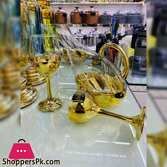 Glassware High Quality Water Set 6 Pieces