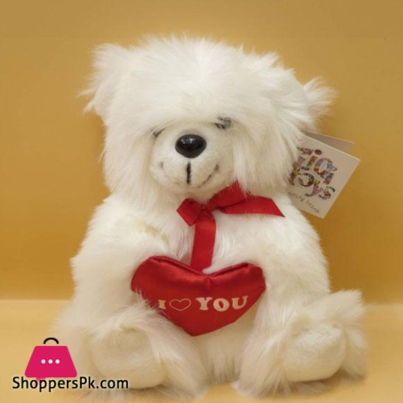 ZiQi Teddy Bear Love Heart 8 Inch