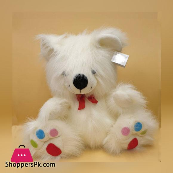 ZiQi Teddy Bear With Multi Dot 17 Inch