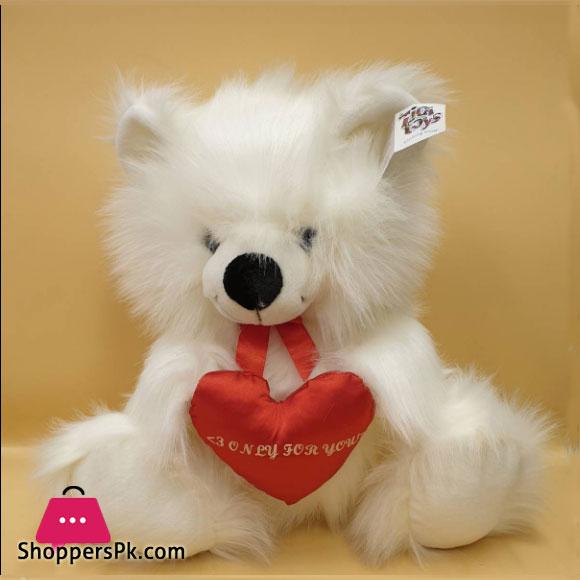 ZiQi Teddy Bear With Heart 17 Inch