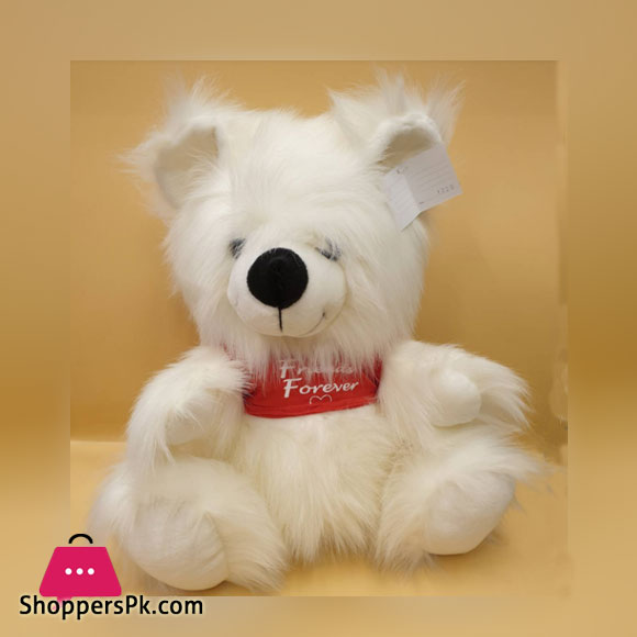 ZiQi Teddy Bear With Red T-shirt 17 Inch