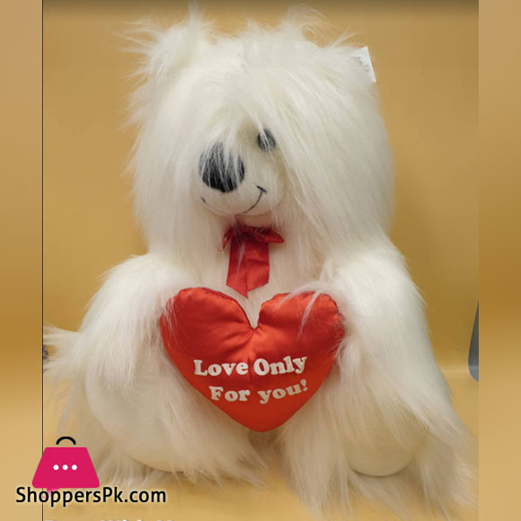 ZiQi Teddy Bear With Heart 20 Inch