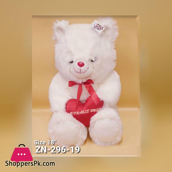 ZiQi Teddy Bear With Heart 18 Inch