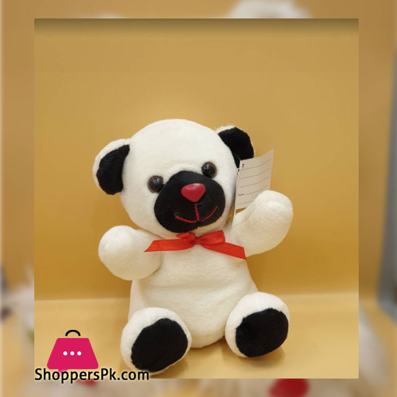 ZiQi Red Nose White BEAR 8 Inch