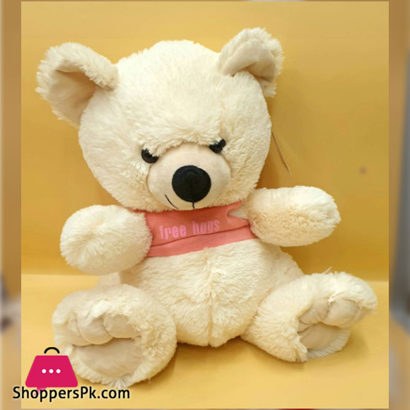 ZIQI Teddy Bear With Pink T-SHIRT 15 Inch