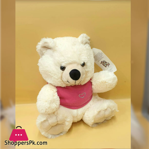 ZIQI Teddy Bear With Pink Jacket 10 Inch