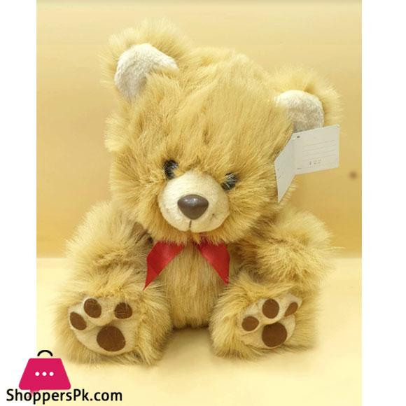 ZIQI Teddy Bear L Brown Lilac 14 Inch