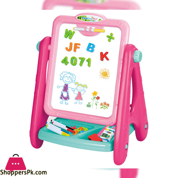 Family Center Painting Art Drawing Board Pink