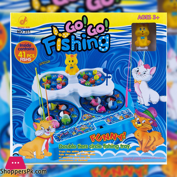 ICE TREE GO GO Fishing Game Double Tier