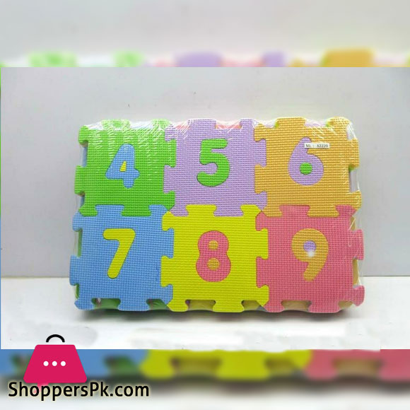 Matney Foam Mat of Number Puzzle Pieces Great for Kids to Learn and Play Interlocking Puzzle Pieces