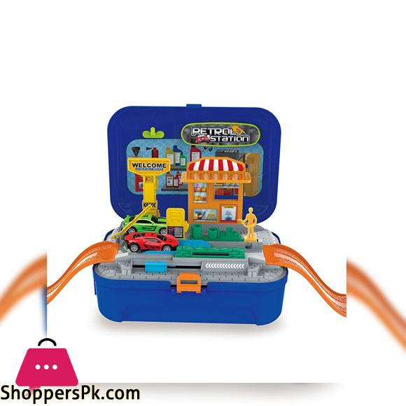 Petrol Station Backpack Toy Set