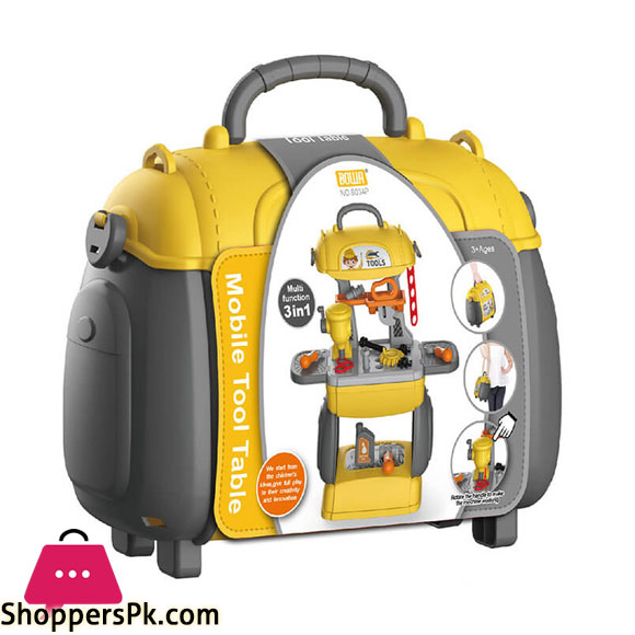 Bowa Mobile Tool Table For Kids