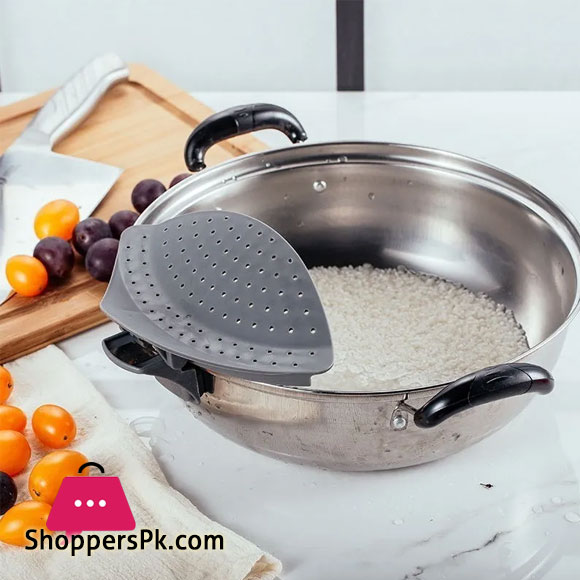 Attachable Pot Drainer Holds In The Kitchen Pot