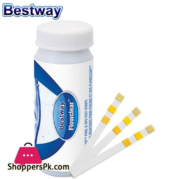 Bestway Chlorine PH Test Strips - 58142