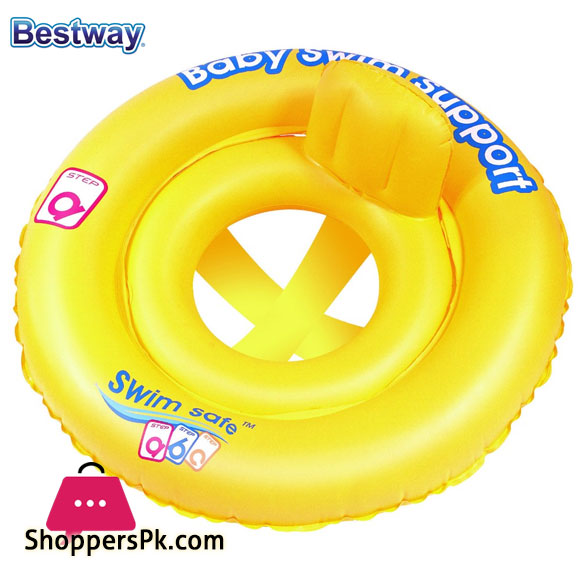 Bestway Double Ring Baby Seat Swimming Pool Float – 27 inches – 32027