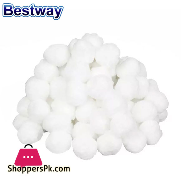 Bestway Flowclear Polysphere Cotton Spheres For Filter Above Ground Pool - 58475