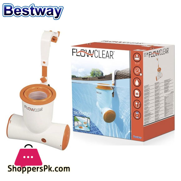 Bestway Flowclear Skimatic Skimmer Cartridge Filter Pump For Above Ground Pools - 58469
