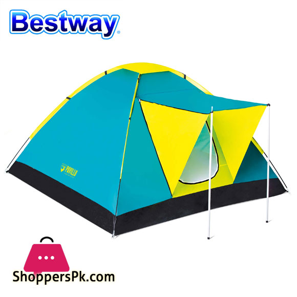 Bestway Pavillo Cool Ground Tent 3 PersonCamping Tent - 68088