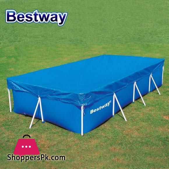 Bestway Pool Cover 118 Inch x 79 Inch - 58106
