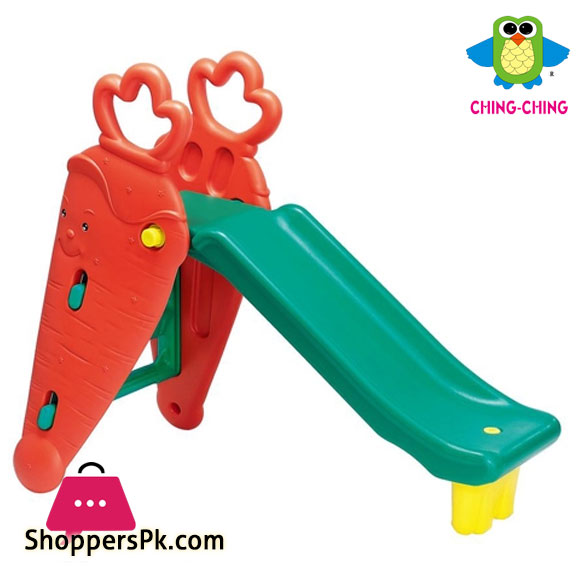 Ching Ching Carrot Slide For 1.5 to 8 Years Kids SL-10