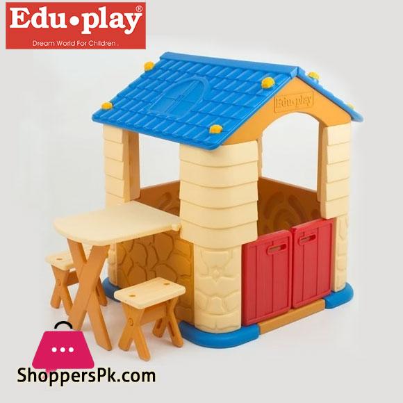 Edu Play - Playhouse with Table & Chair Set - TB7226