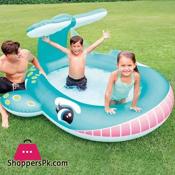 Intex Whale Spray Pool For Kids